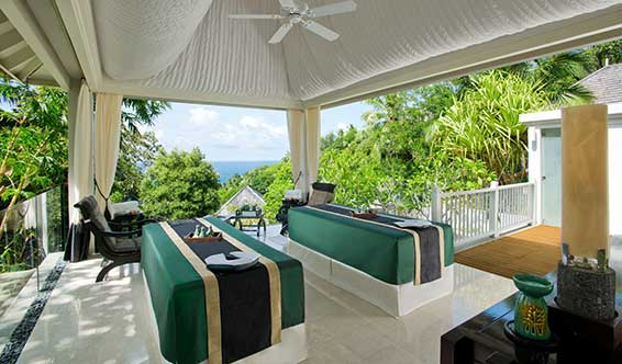 Banyan Tree Spa Seychelles отеля Banyan Tree Resort & Spa 5*  (Банян Три Резорт Энд Спа)
